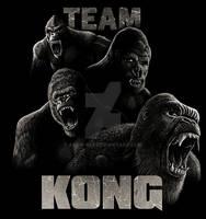 Team Kong shirt design