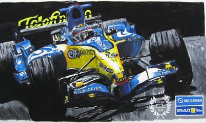 Fernando Alonso by midzki