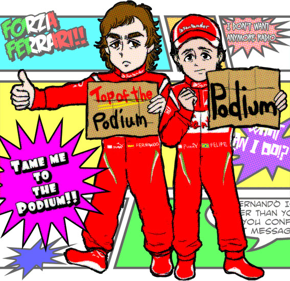 """""""Take us to the podium"""" by midzki"""