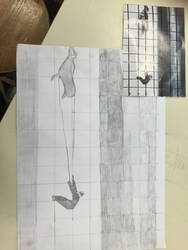 Grid drawing practice by EBOLAFIED