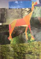 Cubist giraffe by EBOLAFIED