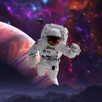 Astronaut Done by EBOLAFIED
