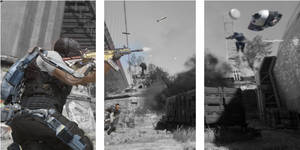 call of duty color splash scene by EBOLAFIED