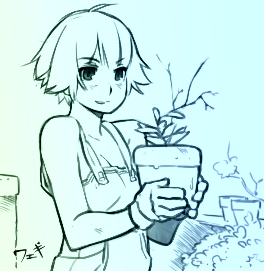 Gardener Mugi by feguimel