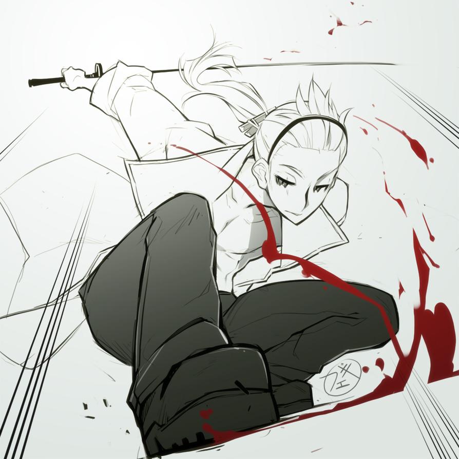 Shishi-kiri by feguimel