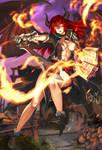 comm: Airomed, the Demoness Warlock
