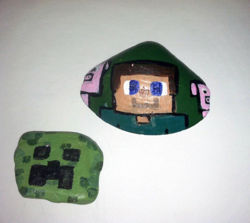 Minecraft steve and cake ideas and designs - Minecraft creeper and steve ...