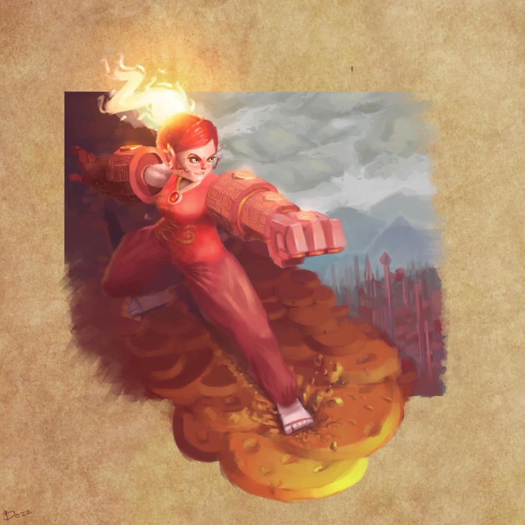 Fire lady by werur