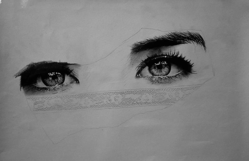 Eyes - sketch by Gattanday