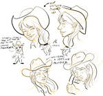 SEIE Applejack Sketchdump by Adan-Cricjer