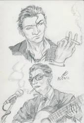 Gil Sketch by Adan-Cricjer