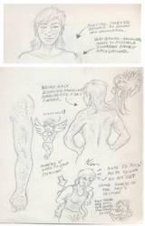 Cowgirl Applejack Anatomy Sketches 1 by Adan-Cricjer