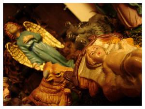 away in the manger...