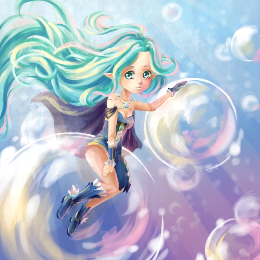 CE: Underwater Velleda by Mynalia