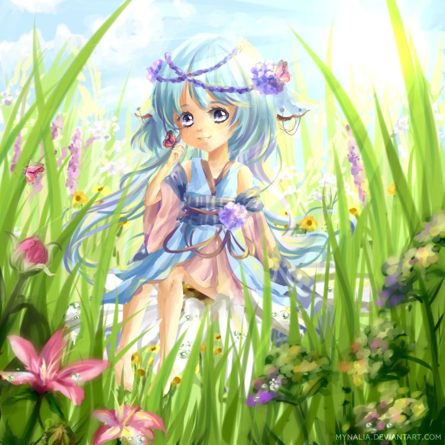 CE: Spring Lazuli by Mynalia