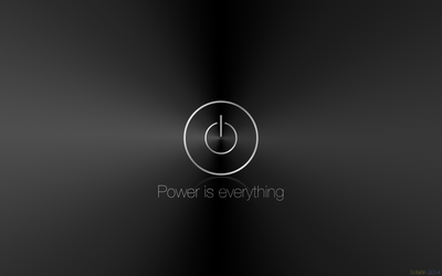 Wallpaper - Power is everything by Sofartin