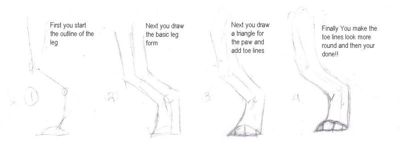 -:Hind Leg Tutorial:- by Mrchocolate0