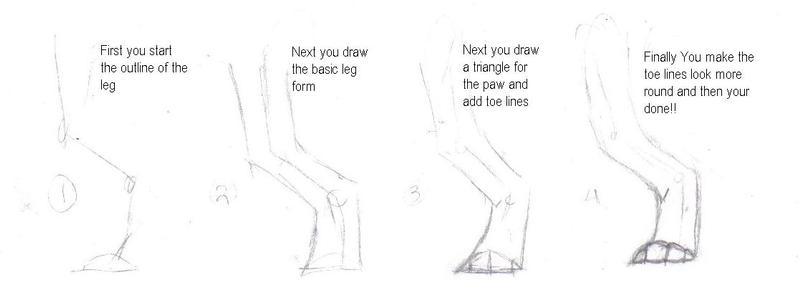 -:Hind Leg Tutorial:- by DasChocolate