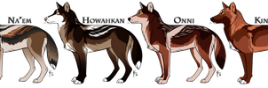 WoLF: Winter Opening Adoptables - CLOSED