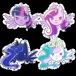 Chibi Princesses