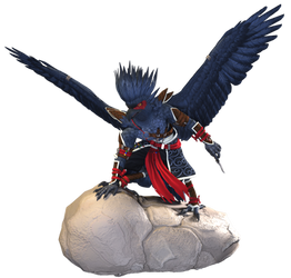 Glimfeather - 3D Character Model