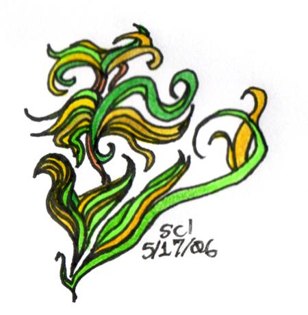 seaweed tattoo design by sarahriddle on deviantart. Black Bedroom Furniture Sets. Home Design Ideas