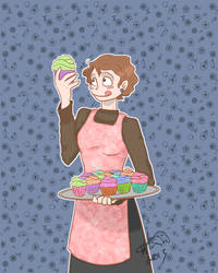 The Cupcake Baker by Kaibi2006