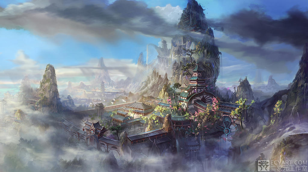 Temple in the sky 2