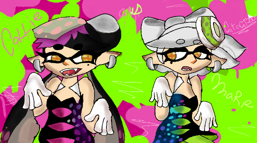 Callie  and marie by Catacat2005