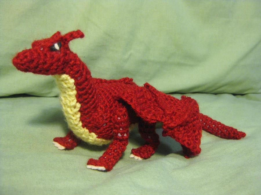 Knit Dragon Pattern Free : Crochet Dragon by opiel16 on DeviantArt
