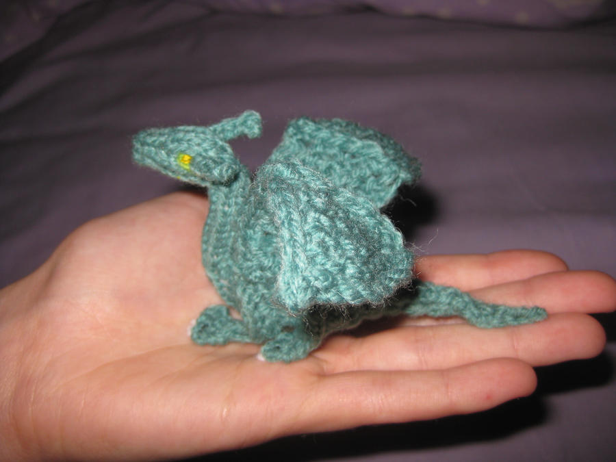 Baby Knitted Dragon 2 by opiel16 on DeviantArt