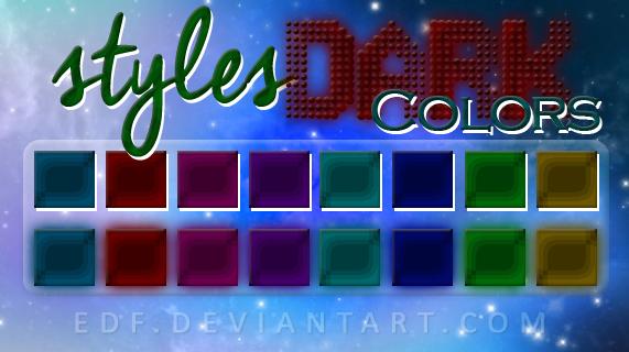 +Styles: DarkColors. by EDFTeam