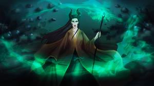 Maleficent by Lunar-Graphite