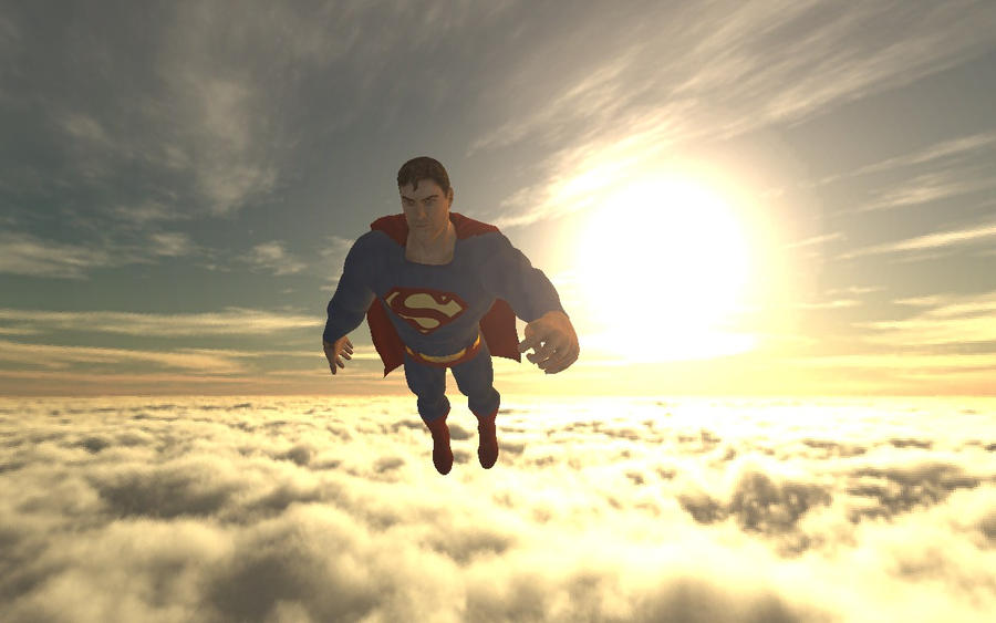 Superman flying away by shadow759 on deviantart superman flying away by shadow759 publicscrutiny Gallery