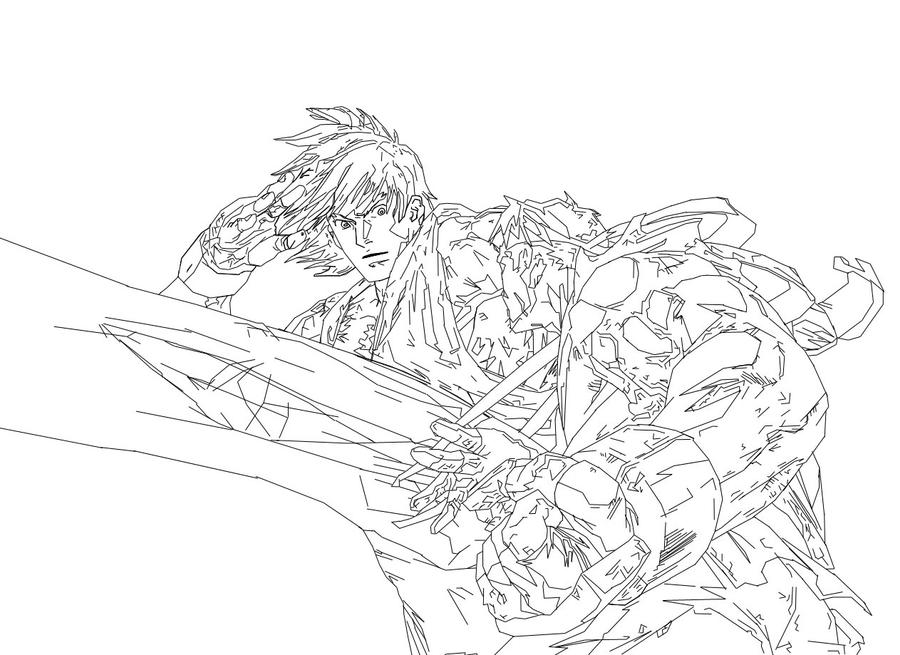 Ken vs ryu smoov28 shadow759 by shadow759 on deviantart for Ryu coloring pages