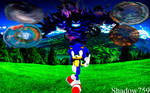 Sonic The Hedgehog Reminiscent Poster
