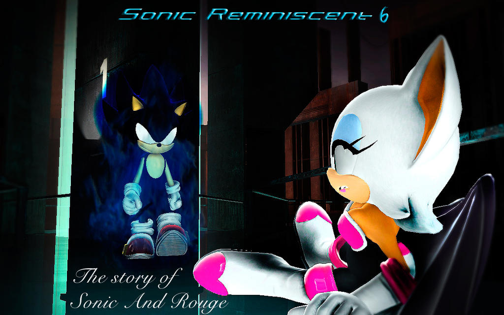 Sonic The Hedgehog Reminiscent 6 Dark Sonic Wrath By