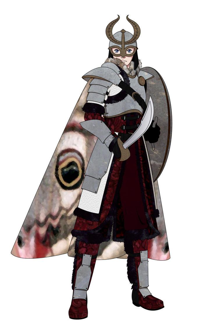 Moth Knight by kakashi-no-ai