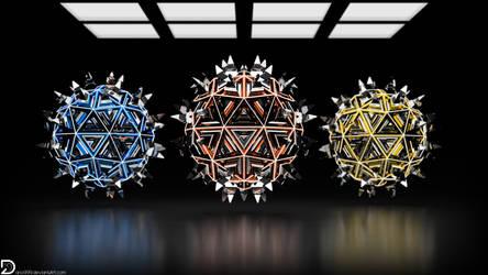 Spiky Spheres (4k)