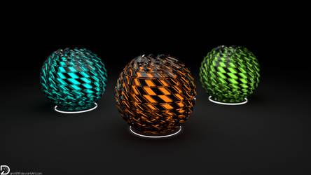 Distorted Spheres (5k)