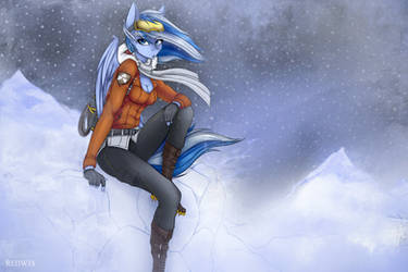 The Queen of snowy mountains by ReDwix
