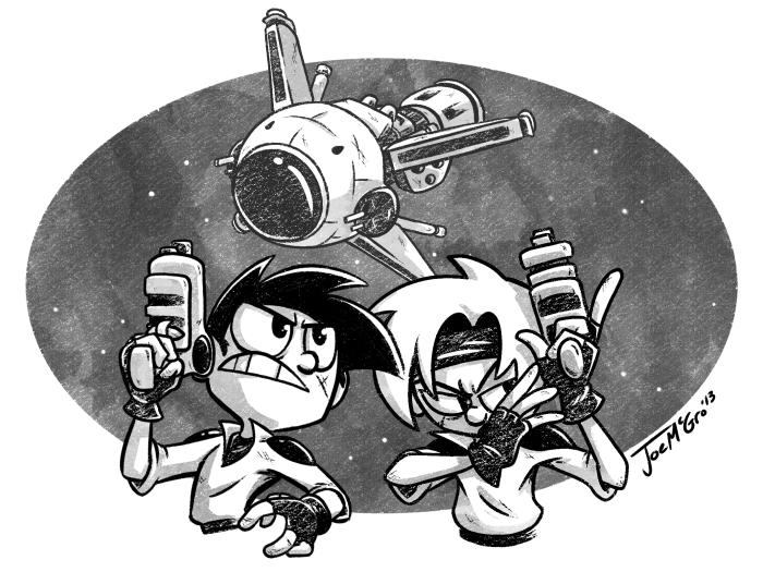 Gunstar Heroes by JoeMcGro