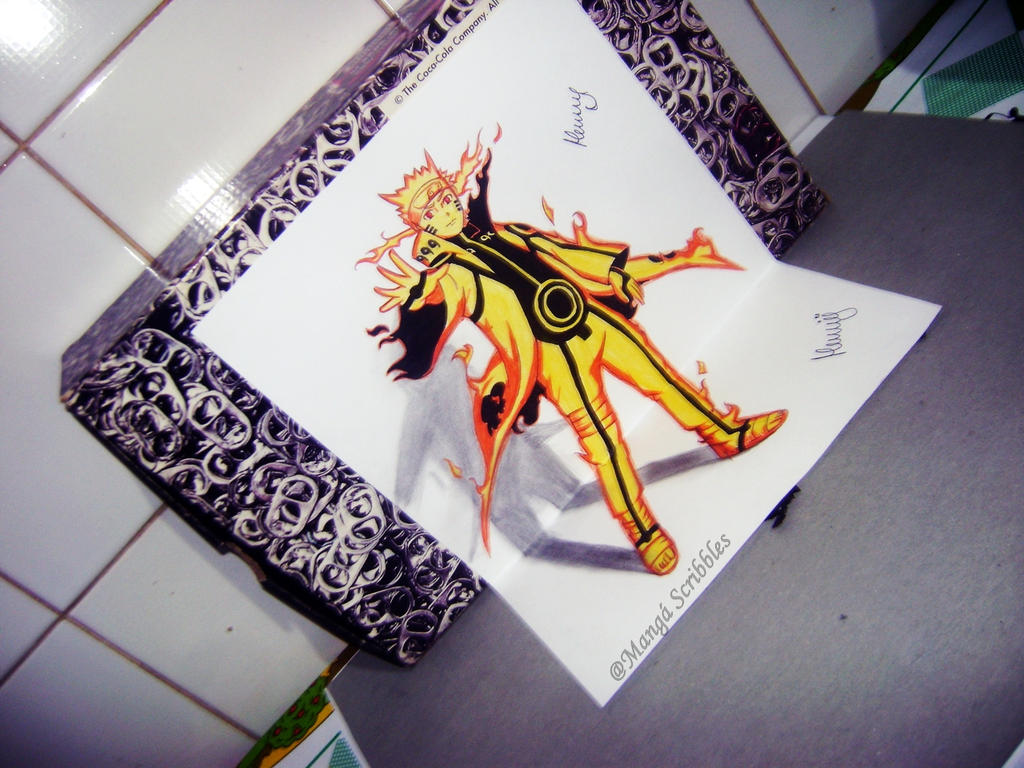 Naruto 3d by henrydradye on deviantart for 3d drawing online