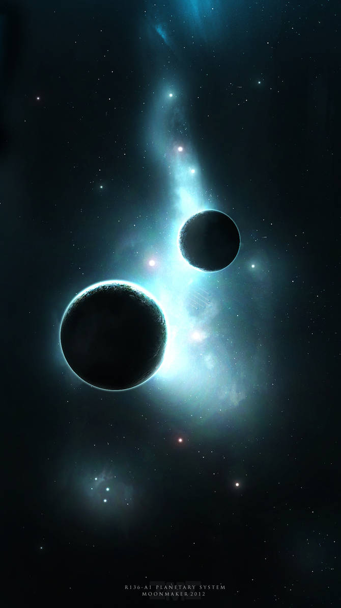 R136-A1 Planetary System