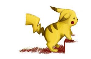 Pokemon: Pikachu by Vertigosia