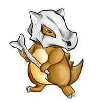 Pokemon: Cubone by Vertigosia