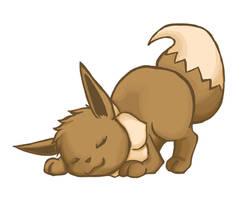 Pokemon: Eevee by Vertigosia