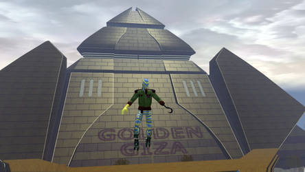 Geezer at Golden Giza