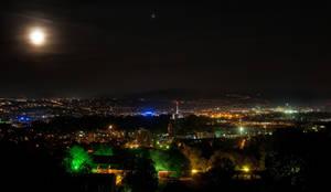 Stuttgart at Night by cleverless