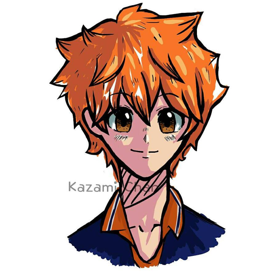 hinata doodle by Kazami--Chan